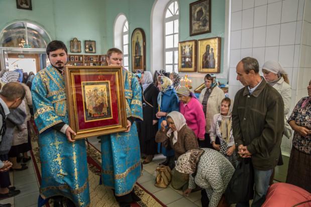 В Успенский женский монастырь с. Перевозное доставили список с чудотворной иконы